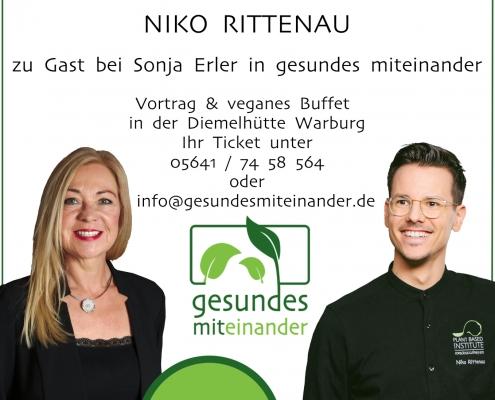 Niko Rittenau zu Gast bei Sonja Erler in gesundes miteinander