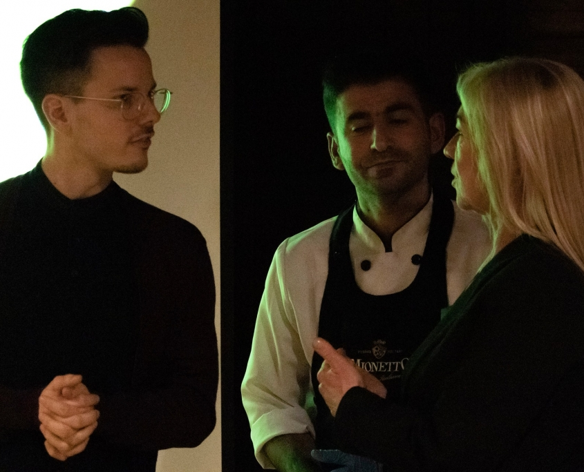 Veranstaltung mit Niko Rittenau - Dankeschön an den Koch Menif Omar mit Niko Rittenau und Sonja Erler