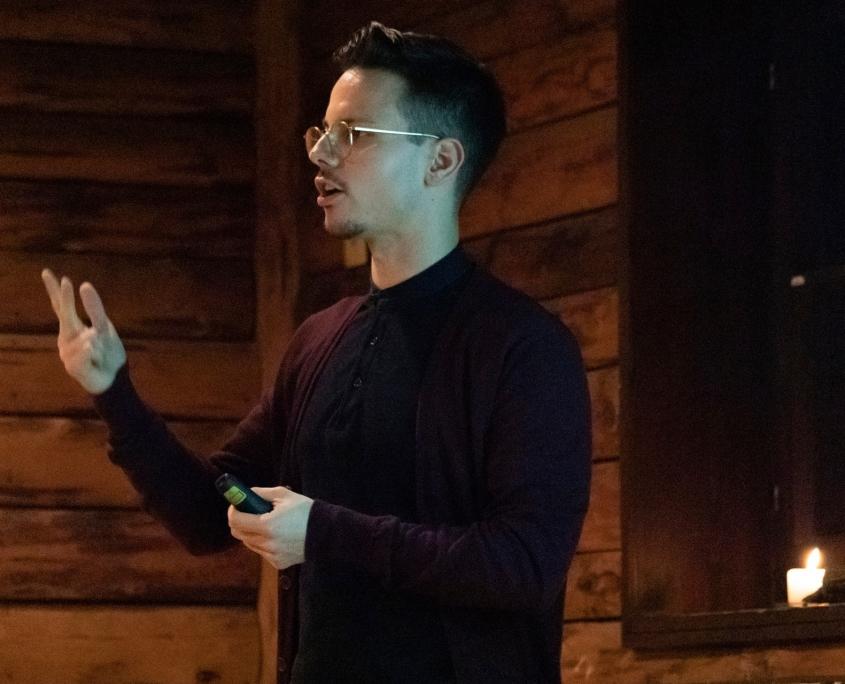 Veranstaltung mit Niko Rittenau - Vortrag von Niko Rittenau