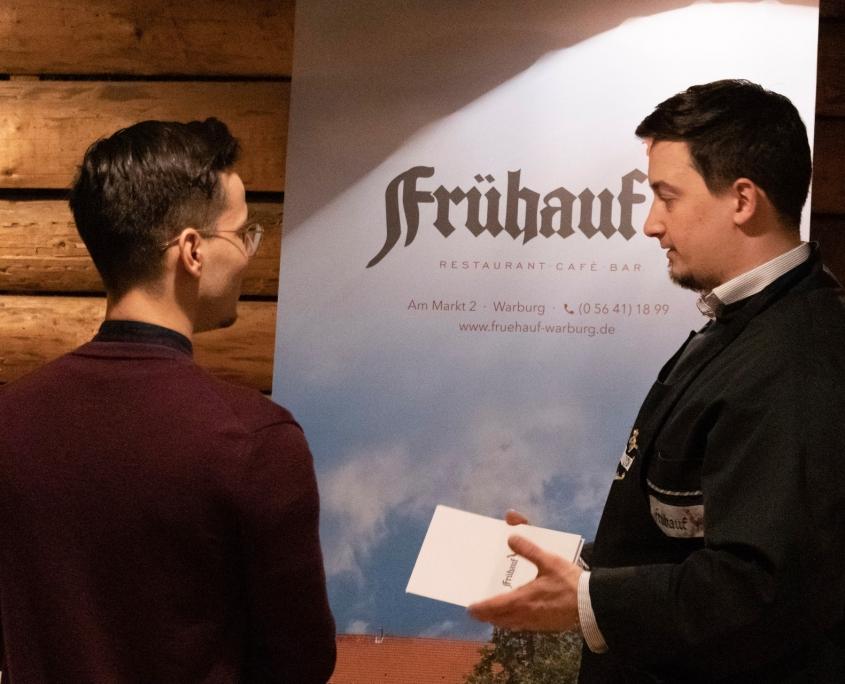 Veranstaltung mit Niko Rittenau - Niko Rittenau im Gespräch mit Walter Frühauf